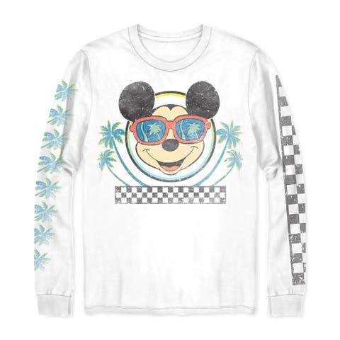 Disney Mens La Mickey Graphic T-Shirt