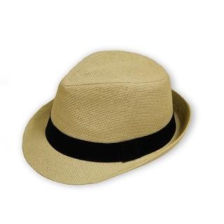 Unisex Fedora Straw Hat