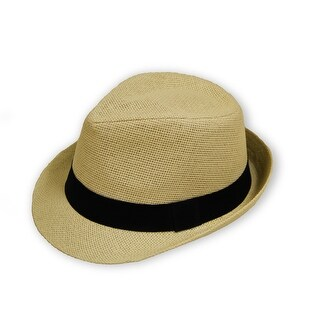 Unisex Fedora Straw Hat (2 options available)