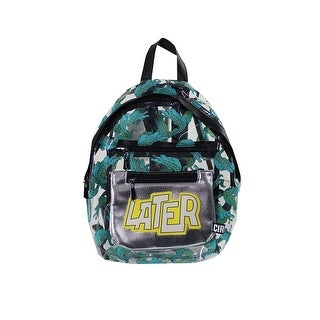 Circus By Sam Edelman Clear Gator Graphic Backpack OS