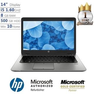 "HP ProBook 840 G1, Intel Core i5, 8GB, 500GB HD, 14"" Full HD, Win 10 Laptop - Silver"