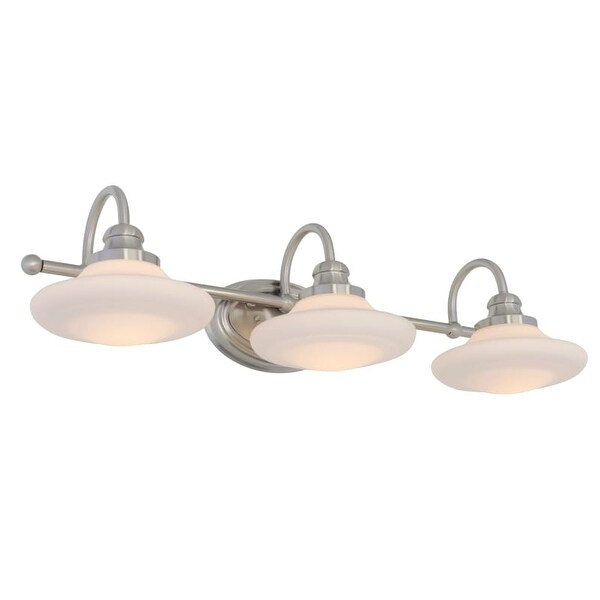 Miseno MLIT137292 Santi 3-Light Bathroom Vanity Light - Reversible Mounting Option