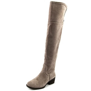 Vince Camuto Baldwin Round Toe Suede Over the Knee Boot