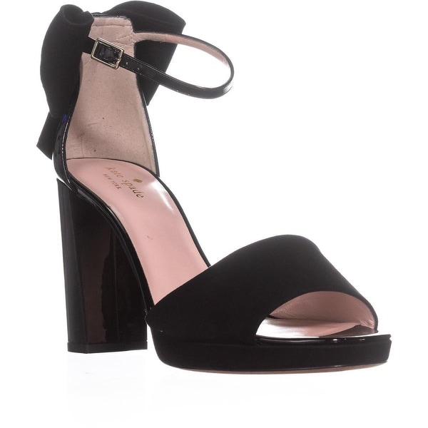 Kate Spade New York Halle Bow Sandals, Black
