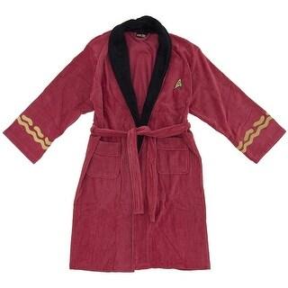 Star Trek Red Scotty Men's Robe