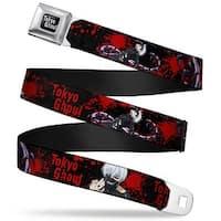 Tokyo Ghoul Full Color Black White Tokyo Ghoul Masked Ken Centipede Ken Seatbelt Belt