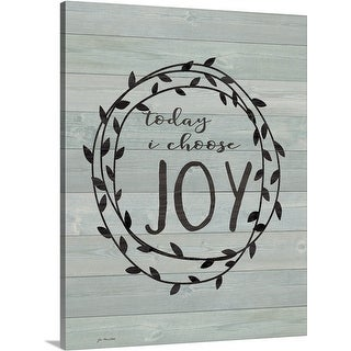 Jo Moulton Premium Thick-Wrap Canvas entitled Choose Joy