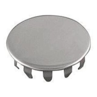 LDR 5016420 Snap Style Stainless Steel Faucet Hole Cover, 1-1/2""
