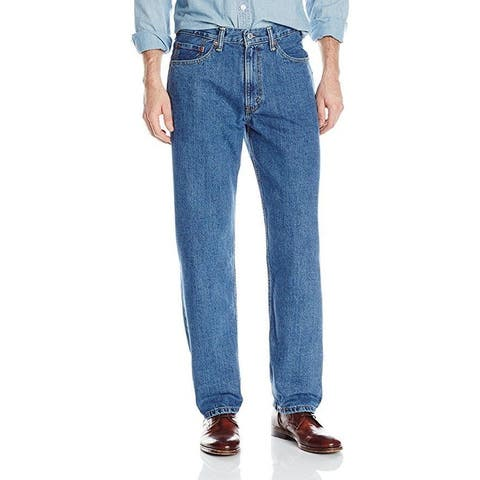 Levi's Men's 550 Relaxed Fit Jean, Medium Stonewash, 30x29