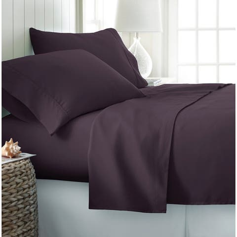 Becky Cameron Luxury Ultra Soft 4-piece Bed Sheet Set