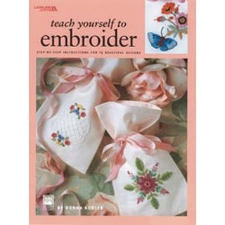 Teach Yourself To Embroider - Leisure Arts