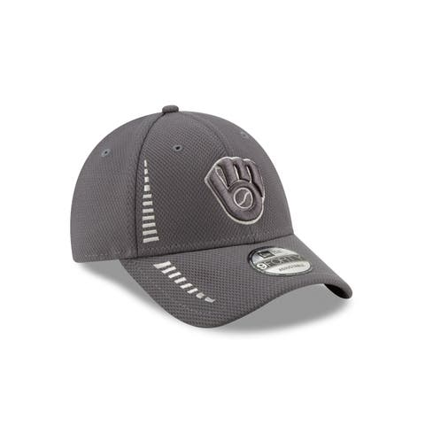 best service 3e557 3d5df Milwaukee Brewers 9FORTY Speed Diamond Era Performance Adjustable Cap,  Graphite