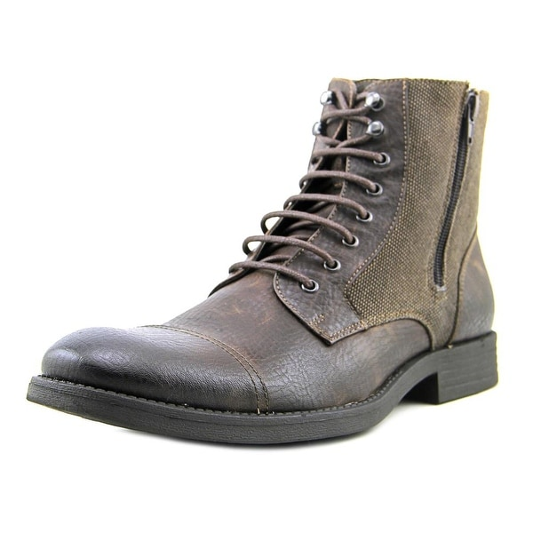 Robert Wayne Edgar Round Toe Leather Boot