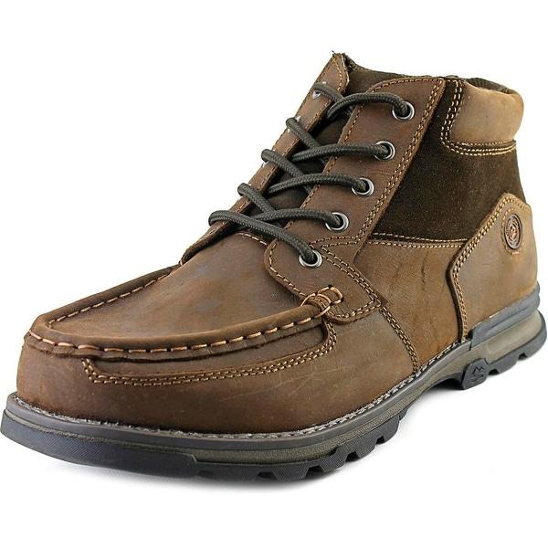 Shop Nunn Bush Pershing Men Moc Toe Leather Brown Chukka