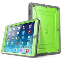iPad Air Case, SUPCASE, Unicorn Beetle Pro, Heavy Duty Full-body Case, Ipad Air Case-Green.Gray