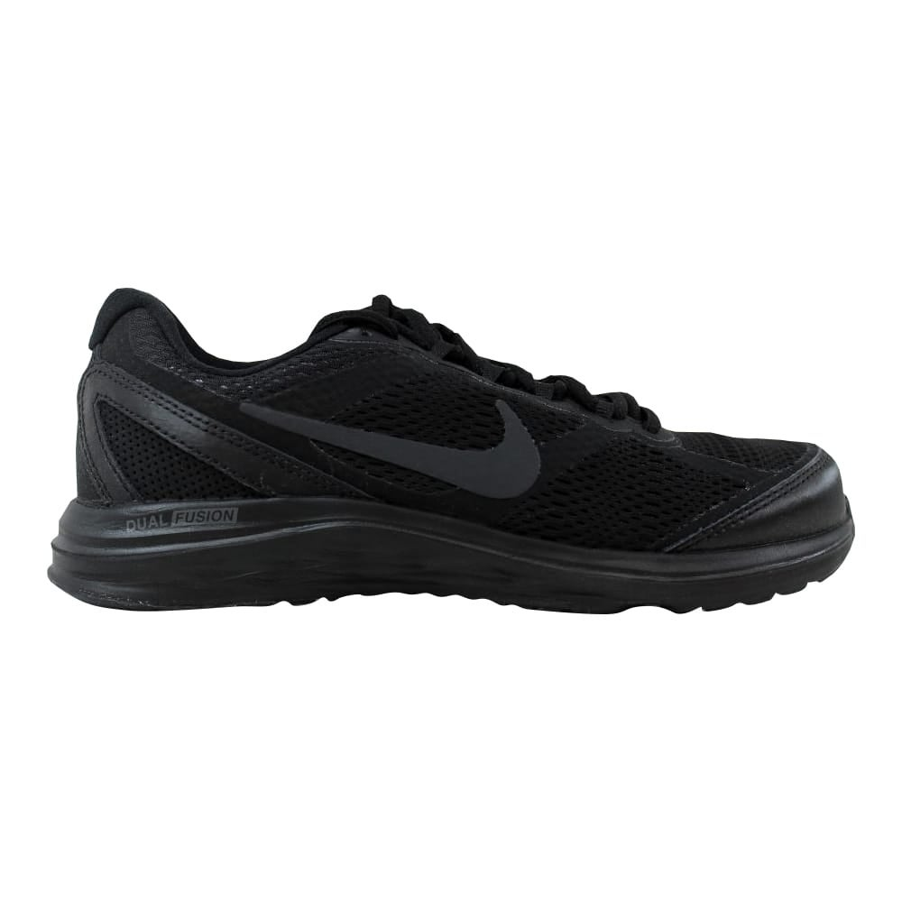 hot sales 63d31 d4a23 Shop Nike Women s Dual Fusion Run 3 Black Black-Anthracite 653594-020 - Free  Shipping Today - Overstock - 21141434