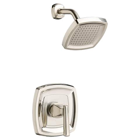 American Standard T018.507 Edgemere Shower Trim Package with 1.8 GPM Single Function Shower Head