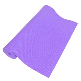 0.2   Thick Nonslip Sponge Yoga Mat Fitness Exercise Purple