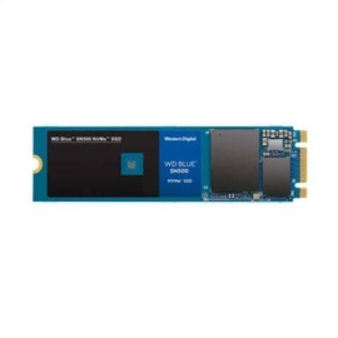 Western Digital Solid State Drive WDS500G1B0C 500GB WD Blue SN500 NVMe M.2 2280 PCI Express Retail