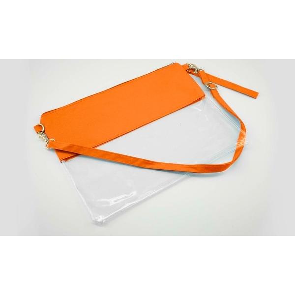 9c8c6f9fcf Shop Women s Clear Stadium Cross Body Bag- 4 Colors - Free Shipping ...