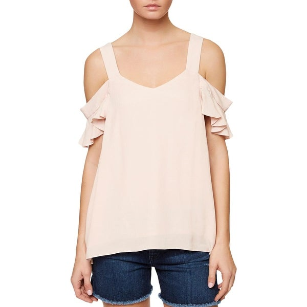 Shop Sanctuary Womens Annie Blouse Off- The-Shoulder Textured - Free  Shipping On Orders Over  45 - Overstock - 18948806 568cea4e9
