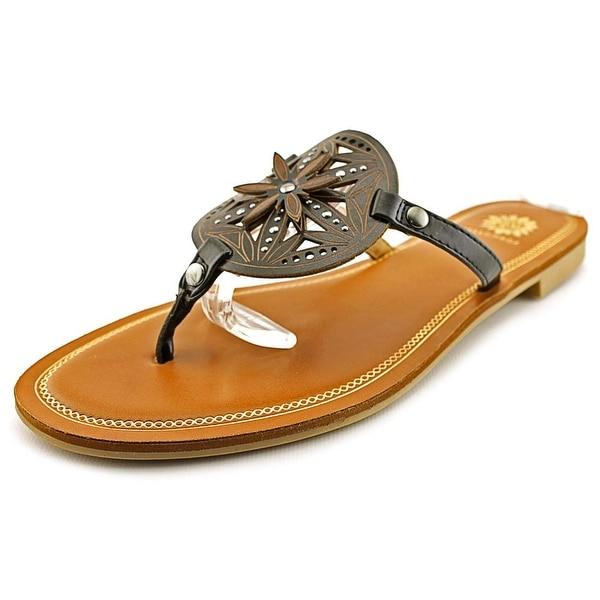 Yellow Box Romona Women Open Toe Synthetic Thong Sandal