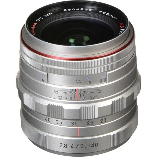 Pentax HD Pentax DA 20-40mm f/2.8-4 ED Limited DC WR Lens (Silver)