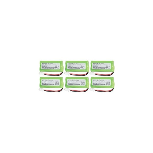 Battery for All Brands BT183342 (6 Pack) Rechargeable Battery