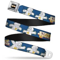 Steven Universe Logo Full Color Black Steven's Universe 3 Steven Outline Seatbelt Belt