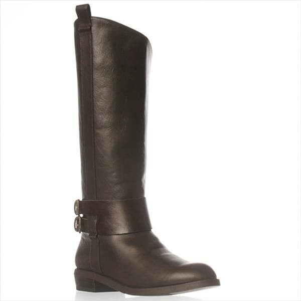 JFab Cameron Riding Boots - Brown