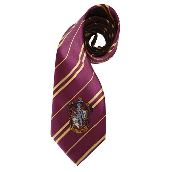 Harry Potter House Gryffindor Kid and Adult Costume Necktie - Red