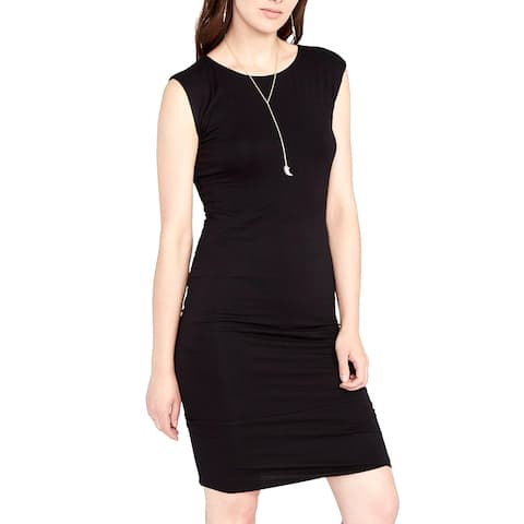 Rachel Rachel Roy May Easy Draped Dress Black