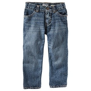 OshKosh B'gosh Little Boys Classic Jeans - Tumbled Medium -2T