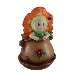 Link to Little Bloomer Orange Flower Baby Coin Bank Similar Items in Collectibles