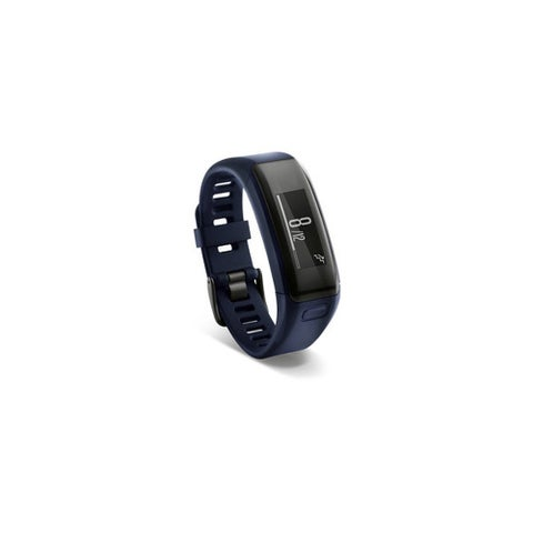 Refurbished Garmin vivosmart HR Standard Midnight Blue vivosmart HR Black