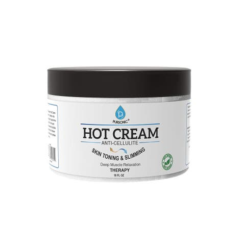 Pursonic Anti Cellulite & Muscle Relaxation 10-ounce Hot Cream