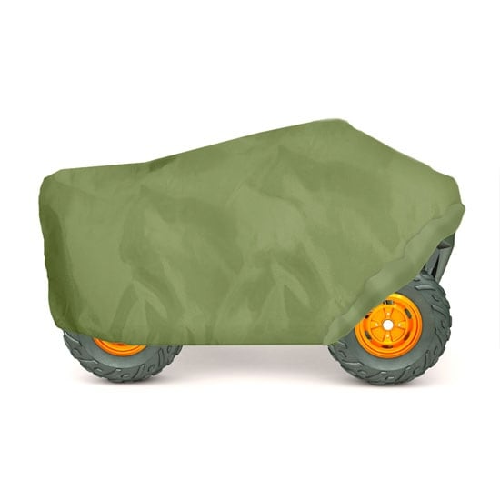 Armor Shield ATV / 4 Wheeler Protective Cover, Olive Color, Fits Vehicles up to 82''L x 48''W x 31.5''H