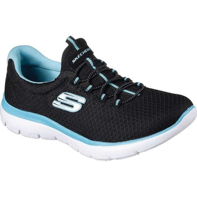 Summits Sneaker Black/Turquoise