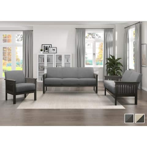 Basseri 3-Piece Living Room Set