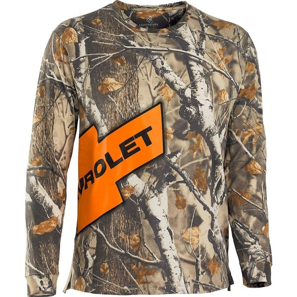 Legendary Whitetails Mens Trucked Up Chevy Long Sleeve Tee