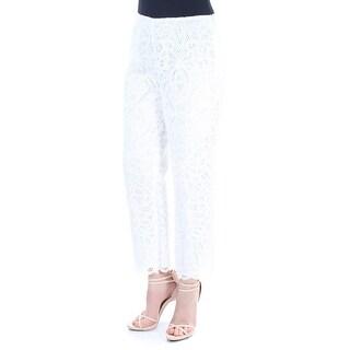 RALPH LAUREN $295 Womens New 1735 Ivory Lace Wear To Work Pants 8 B+B