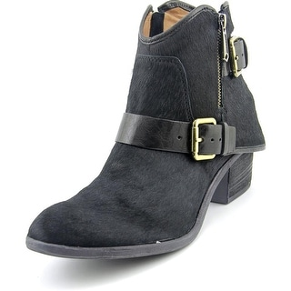 Donald J Pliner Dalis Round Toe Suede Ankle Boot