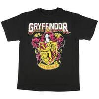 Harry Potter Hogwarts Crest Gryffindor Boy's Youth T-Shirt