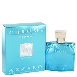Chrome Summer by Azzaro Eau De Toilette Spray 1.7 oz - Men