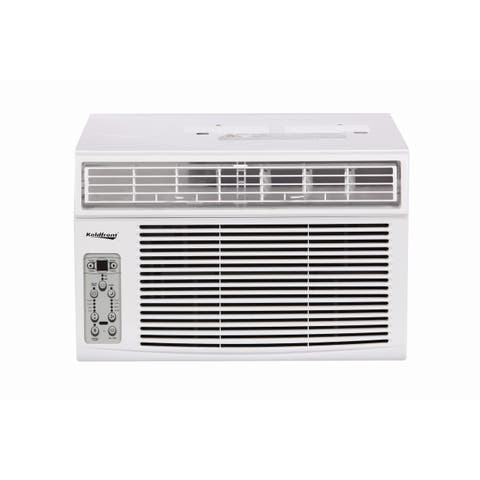 Koldfront WAC8003WCO 8000 BTU 115V Window Air Conditioner with Dehumidifier and Remote Control - White