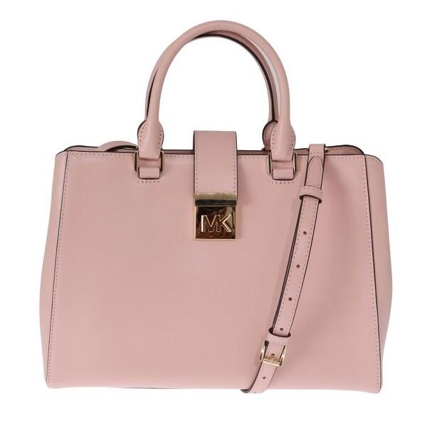 085b83bd0469e8 Shop Michael Kors Pink MINDY Satchel Crossbody Bag - One Size - Free ...