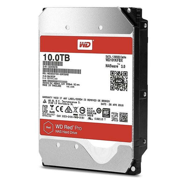 Western Digital - 10Tb 7200Rpm 3.5In Wd Red Pro Sata