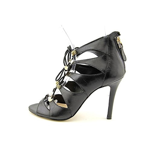 GUESS Womens Legari Leather Open Toe Special Occasion Strappy Sandals