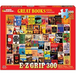 "Jigsaw Puzzle 300 Pieces 24""X30""-Great Books"