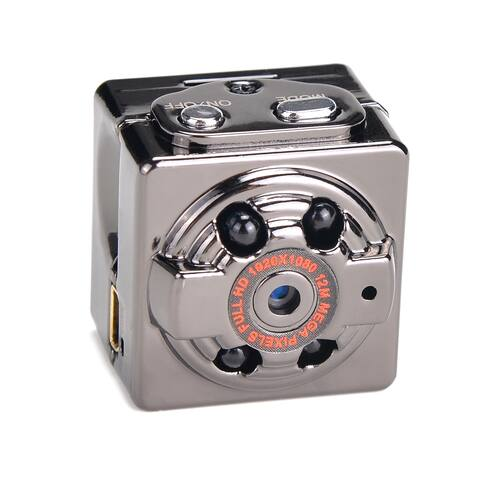 AGPtek Mini 1080P HD Hidden SPY Camera Night Vision Motion Detection Video Recorder Cam - N/A - SIZE